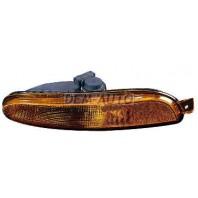 Указатель поворота нижний правый в бампер без отверстия под омыватель фар желтый