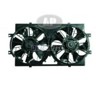 Мотор+вентилятор радиатора охлаждения двухвентиляторный с корпусом 4 цилиндра