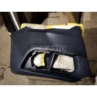 Бампер передний правый с отверстиями под омыватели фар
