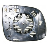 {Q5 08-} Стекло зеркала левого электрического с подогревом (aspherical)