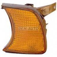 Указатель поворота угловой левый желтый