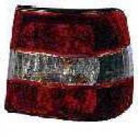 Фонарь задний внешний правый (СЕДАН) тюнинг прозрачный хрустальный красно-белый