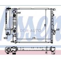 {E30 88-91} Радиатор охлаждения (NISSENS) (NRF) (GERI)(см.каталог)