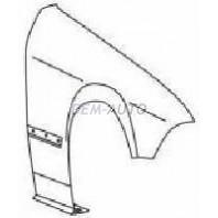 Крыло переднее правое (КУПЕ) (кабриолет) без отверстия под повторитель