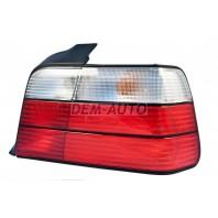 Фонарь задний внешний правый диодный стоп сигнал , указатель поворота хрустальный красно-белый