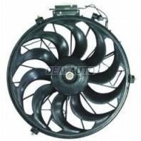 {E34 89-95/E32 87-94} Мотор+вентилятор конденсатора кондиционера
