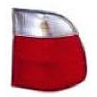 Фонарь задний внешний правый (УНИВЕРСАЛ) красно-белый