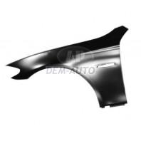 Крыло переднее левое алюминиевое