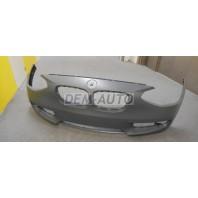 Бампер передний без отверстий под датчики , без отверстий под омыватели фар