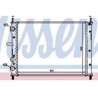 Радиатор охлаждения 1.8 2 механика (см.каталог)