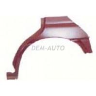 Ремонтная арка заднего левого крыла (4 дв) (5 дв)