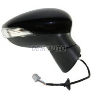 Зеркало правое электрическое с подогревом  с указателем поворота, 5 контактов (CONVEX), грунтованное