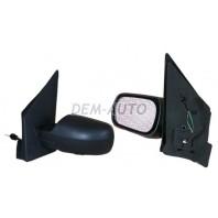 Зеркало левое электрическое с подогревом (CONVEX) под покраску