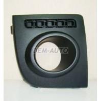 Решетка бампера переднего правая с отверстиями под противотуманку