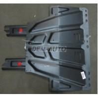 {KUGA 2.0 08-13/C-MAX 1.6/1.8/2.0 03-10} Защита поддона двигателя + кпп с , креплением , универсальная , стальная