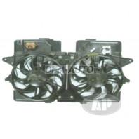 Мотор+вентилятор радиатора охлаждения 3л двухвентиляторный