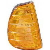 Указатель поворота угловой правый желтый