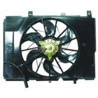 Мотор+вентилятор радиатора охлаждения с корпусом (Bosch тип)