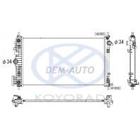Радиатор охлаждения автомат 2 (turbo) (бензин) (KOYO)
