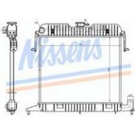 Радиатор охлаждения(NISSENS) (NRF) (GERI) (см.каталог)