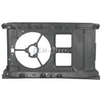 Суппорт радиатора без кондиционера пластиковый
