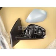 {MEGANE 08-} Зеркало левое электрическое с подогревом указателем поворота температурным датчиком (aspherical) грунтованное