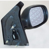Зеркало правоеэлектрическое с подогревом с температурным датчиком (convex) грунтованное