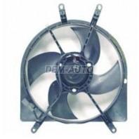 Мотор+вентилятор радиатора охлаждения с корпусом 1.6 автомат