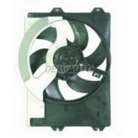Мотор+вентилятор радиатора охлаждения с корпусом 2 (бензин) (дизель)