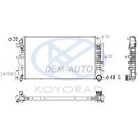 Радиатор охлаждения (см.каталог) механика (KOYO)