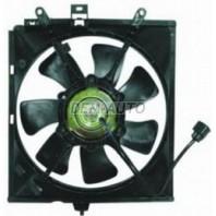{V40} Мотор+вентилятор радиатора охлаждения с корпусом