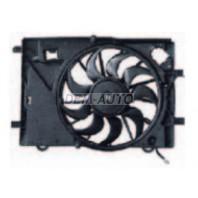 Мотор+вентилятор радиатора охлаждения с корпусом (Китай)