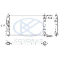 {(1.6  109л.с./ ORLANDO 11- дизель} Радиатор охлаждения механика с кондиционером (KOYO) (1.6 109л.с./ ORLANDO 11- дизель)
