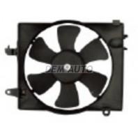 Мотор+вентилятор радиатора охлаждения(Китай)