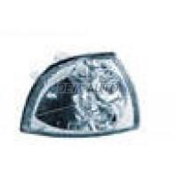 Указатель поворота угловой правый  тюнинг прозрачный хрустальный внутри хромированный (Китай)