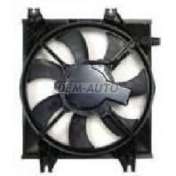 Мотор+вентилятор конденсатора кондиционера с корпусом механика