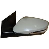 Зеркало левое электрическое с подогревом автоскладывающееся, с указателем поворота, с подсветкой, 10 контактов (CONVEX) грунтованный