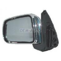 Зеркало левое электрическое без подогрева (CONVEX), хромированное
