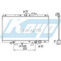 {CD/PRELUDE 97-} Радиатор охлаждения автомат 2 2.2 (KOYO)