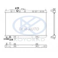 Радиатор охлаждения механика(KOYO) на Nissan Almera - Classic