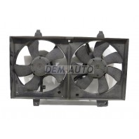 Мотор+вентилятор радиатора охлаждения в сборе (оригинал)