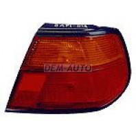 Фонарь задний внешний правый (5 дв) красный-желтый на Nissan Almera - N15