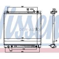 {TITAN/INFINITI QX56 04-} Радиатор охлаждения автомат (см.каталог)