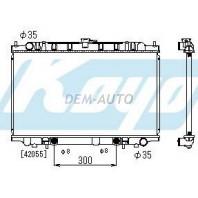 Радиатор охлаждения автомат 2 3 (1 ряд)