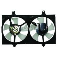 Мотор+вентилятор радиатора охлаждения в сборе с рамкой