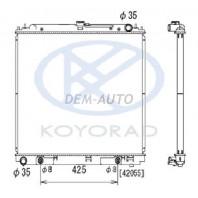 Радиатор охлаждения автомат 4 (бензин) (KOYO)