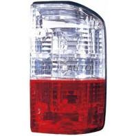 Фонарь задний внешний левый+правый (комплект) тюнинг хрустальный бело-красный
