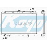 Радиатор охлаждения механика 1.6 1.8 2 (KOYO)