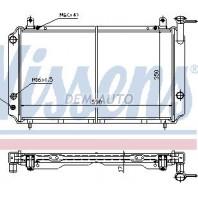 Радиатор охлаждения механика 1.3 1.6(2 ряд)