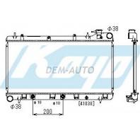 Радиатор охлаждения автомат 1.6 1.8 2 (KOYO)